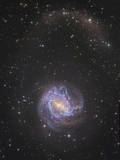 Messier 83 and its Northern Stellar Tidal Stream Photographic Print