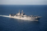 Uss Bonhomme Richard Transits the Coral Sea Photographic Print