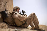 U.S. Marine Conducts a Security Patrol in Afghanistan Photographic Print