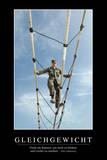 Balance: Motivationsposter Mit Inspirierendem Zitat Reprodukcja zdjęcia