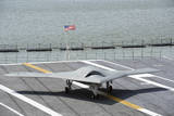 An X-47B Unmanned Combat Air System Photographic Print