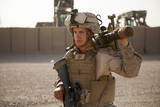 A Mortarman with the U.S. Marines at Camp Leatherneck, Afghanistan Photographic Print