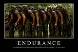 Endurance: Citation Et Affiche D'Inspiration Et Motivation Photographic Print