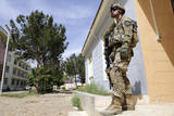 U.S. Army Soldier Provide Security in Farah City, Afghanistan Photographic Print