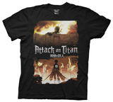 Attack On Titan - Keyart T-shirts