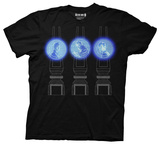 Doctor Who - Three Doctor Projections Shirts