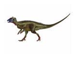 Hypsilophodon Is an Ornithopod Dinosaur from the Cretaceous Period Art