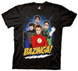 The Big Bang Theory - Super Group Guys T-Shirt