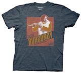 Anchorman 2 - Ron Burgundy Jazz Album T-shirts