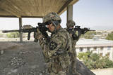 U.S. Army Soldiers Provide Security in Farah City, Afghanistan Photographie
