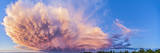 Panoramic View of Mammatocumulus Clouds, Alberta, Canada Photographic Print