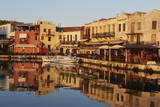 Venetian Port of Rethymnon, Crete, Greek Islands, Greece, Europe Photographic Print by Bruno Morandi