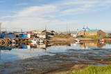 Siberian City Anadyr Harbour, Chukotka Province, Russian Far East, Eurasia Photographic Print by Gabrielle and Michel Therin-Weise