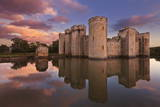 Bodiam Castle and Moat Photographic Print by Neale Clark
