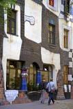 Exterior Kunsthaus Wien Hundertwasser Museum, Vienna, Austria, Central Europe Photographic Print by Neil Farrin