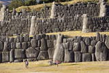 The Inca Ruins of Sacsayhuaman, UNESCO World Heritage Site, Peru, South America Photographic Print by Peter Groenendijk