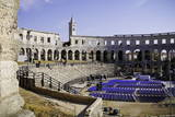 Roman Amphitheater in Pula, Istria, Croatia, Europe Photographic Print by Karl Thomas