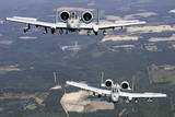 Two A-10C Thunderbolt Aircraft Near Moody Air Force Base, Georgia Photographic Print