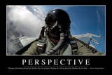 Perspective: Citation Et Affiche D'Inspiration Et Motivation Lámina fotográfica