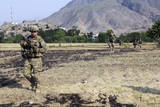 Soldiers Conduct a Dismounted Patrol in Afghanistan Photographic Print