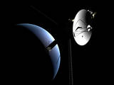 Voyager 1 at Neptune Photographic Print
