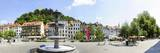 Old Town and Castle, Ljubljanski Grad, Ljubljana, Slovenia, Europe Photographic Print by Karl Thomas