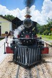 Historical Steam Train Maria Fumaca in Tiradentes, Minas Gerais, Brazil, South America Photographic Print by Michael Runkel
