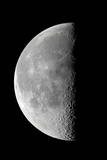 Last Quarter Waning Moon Photographic Print