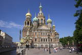 Church on Spilled Blood (Church of the Resurrection) Photographic Print by Peter Barritt