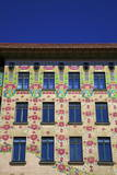Otto Wagner's Art Nouveau Apartments, Majolica House, Vienna, Austria, Europe Photographic Print by Neil Farrin