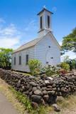 St. Joseph's Church, Island of Molokai, Hawaii, United States of America, Pacific Photographic Print by Michael Runkel