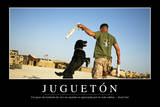 Juego. Cita Inspiradora Y Póster Motivacional Photographic Print