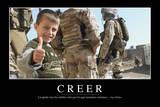 Creer. Cita Inspiradora Y Póster Motivacional Photographic Print