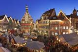 Christmas Fair at the Marketplace Photographic Print by Markus Lange