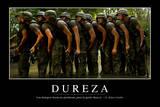 Dureza. Cita Inspiradora Y Póster Motivacional Photographic Print