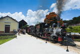 Historical Steam Train Maria Fuma §A in Tiradentes, Minas Gerais, Brazil, South America Photographic Print by Michael Runkel