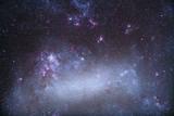 The Tarantula Nebula in the Large Magellanic Cloud Photographic Print