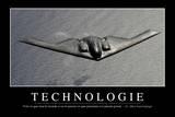 Technologie: Citation Et Affiche D'Inspiration Et Motivation Photographic Print
