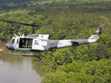 A U.S. Air Force Uh-1H Huey in an Experiment Paint Scheme Photographic Print