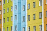 Coloured Apartment Houses, Siberian City Anadyr, Chukotka Province, Russian Far East, Eurasia Photographic Print by Gabrielle and Michel Therin-Weise