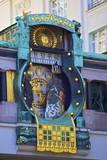 Anker Clock, Vienna, Austria, Europe Photographic Print by Neil Farrin