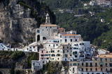 View of Amalfi from the Sea Photographic Print by Oliviero Olivieri