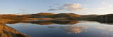 A Panoramic View of Pant Y Llyn Lake, Epynt, Powys, Wales, United Kingdom, Europe Photographic Print by Graham Lawrence