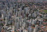 Aerial of Sao Paulo, Brazil, South America Photographic Print by Michael Runkel