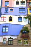 Hundertwasser Haus, Vienna, Austria, Europe Photographic Print by Neil Farrin