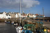 Inner Harbour and Cottages at St. Monan, East Coast, Fife, Scotland, United Kingdom, Europe Photographic Print by James Emmerson