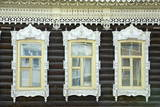 Wooden Architecture, Tomsk, Tomsk Federation, Siberia, Russia, Eurasia Photographic Print by Bruno Morandi