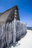 Wooden Statues Photographic Print by Michael Runkel