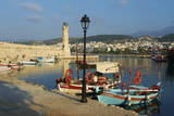 Venetian Port of Rethymnon, Crete, Greek Islands, Greece, Europe Photographic Print by Bruno Morandi