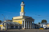 Fire Tower on Susaninskaya Square, Kostroma, Golden Ring, Russia, Europe Photographic Print by Michael Runkel